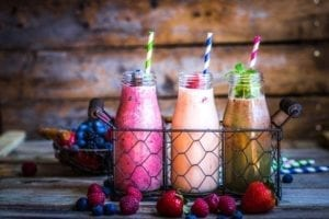 protein powder smoothies