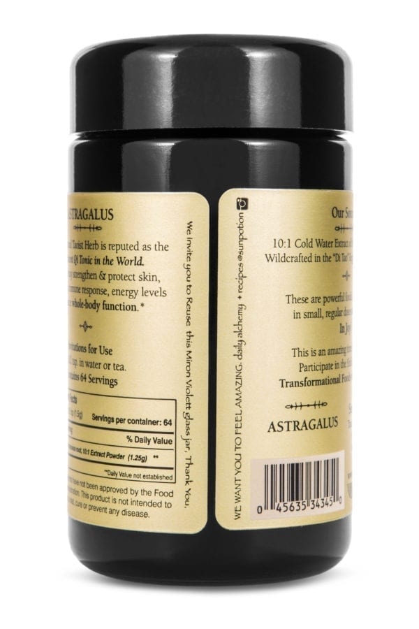 Sun Potion Astragalus Back View