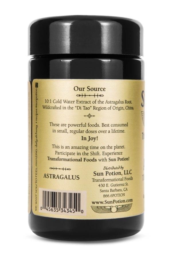 Sun Potion Astragalus Uses