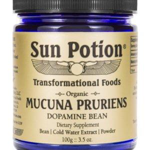 Sun Potion Mucuna Pruriens Front View
