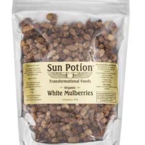 Sun Potion White Mulberries Front View